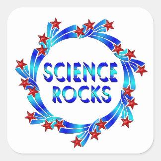 Science Rocks Fun Square Sticker