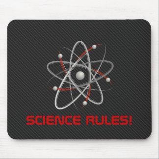 SCIENCE RULES Atom 004a Geek Mousepads