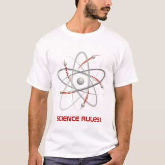 SCIENCE RULES! - Atom (004a) T-Shirt