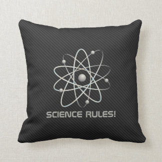 SCIENCE RULES!   Atom (007) Cushion
