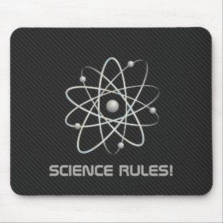 SCIENCE RULES Atom 007 Geek Mousepads