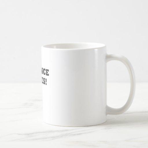 Science Rules Coffee Mug