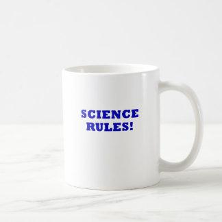 Science Rules Coffee Mugs