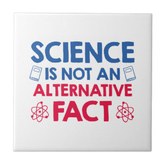Science Small Square Tile