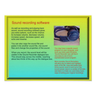 Science, Sound, Recording sound Posters