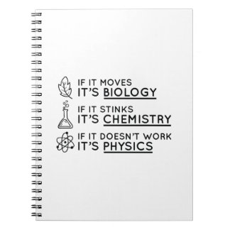 Science Spiral Notebook