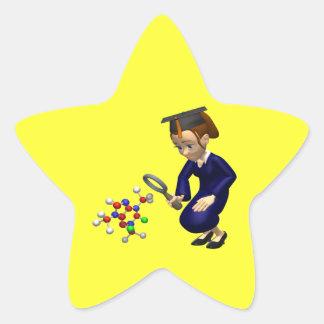 Science Star Sticker