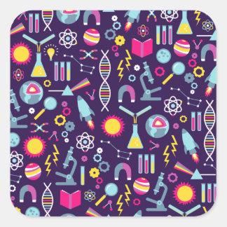 Science Studies Square Sticker