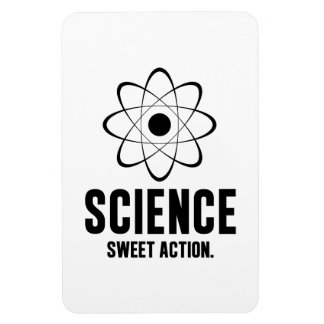 Science. Sweet Action. Vinyl Magnets