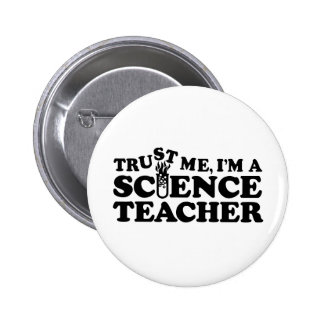Science Teacher 6 Cm Round Badge