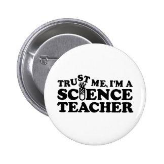 Science Teacher 6 Cm Round Badge