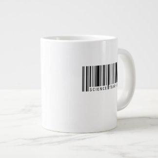 Science Teacher Barcode Large Coffee Mug