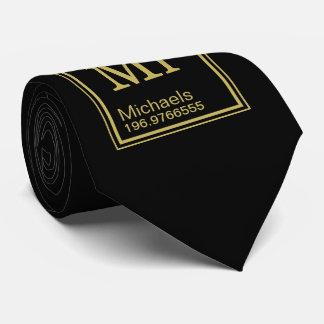Science Teacher Custom Name Periodic Table Black Tie