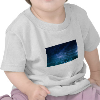 Science Technology Blue Tee Shirt