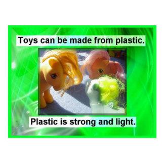 Science, Uses of Plastic Postcard