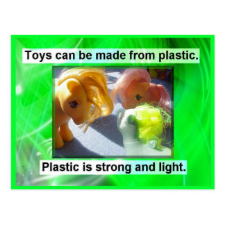 Science Uses of Plastic Postcards