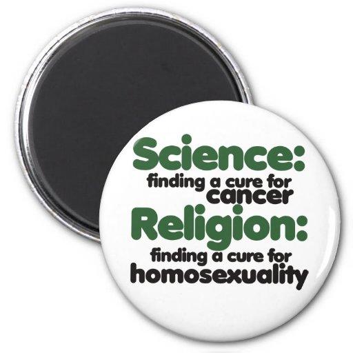 Science VS Religion Magnets