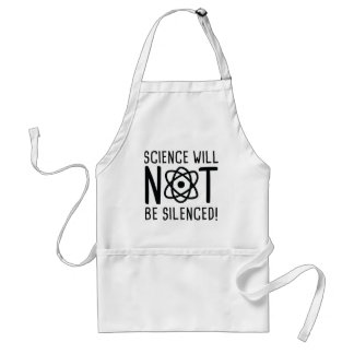Science Will Not Be Silenced Standard Apron