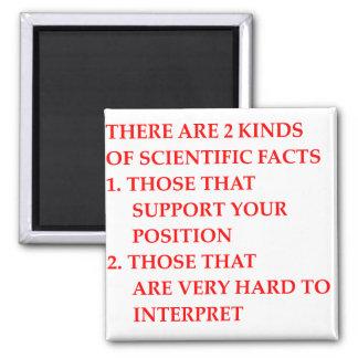 scientific facts refrigerator magnets