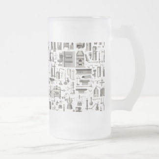 Scientific Tools Frosted Glass Mug