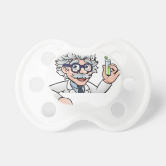 Scientist Cartoon Character Holding Test Tube Dummy