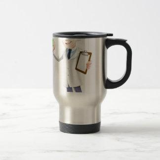 Scientist cartoon mugs