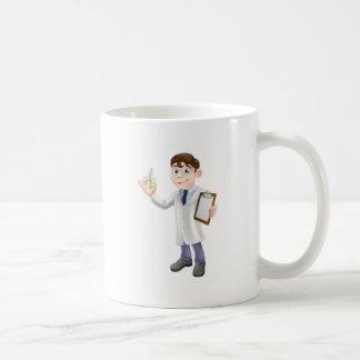 Scientist cartoon mug