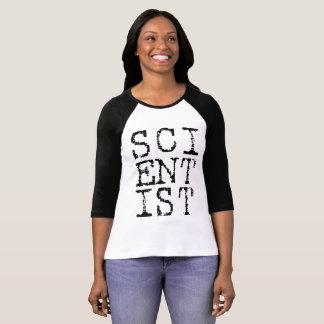 Scientist Ladies Raglan T-Shirt