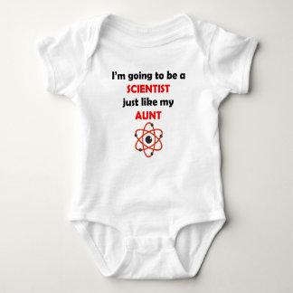 Scientist Like My Aunt Baby Bodysuit