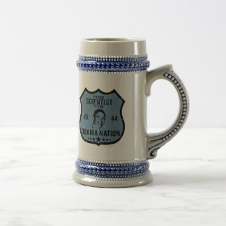Scientist Obama Nation Beer Stein
