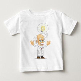 Scientist or Professor Having an Idea Baby T-Shirt