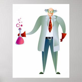 Scientist Print