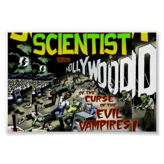 Scientist Rids Hollywood of the Curse of the Vamps Poster