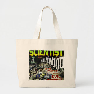 Scientist rids Hollywood of the Curse Products Jumbo Tote Bag