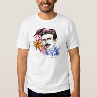 Scientists Series Collection: Nikola Tesla Shirt