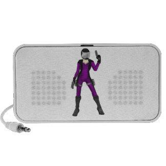 Scifi Cop Portable Speaker