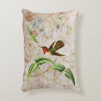 Scintillant Hummingbird Decorative Cushion
