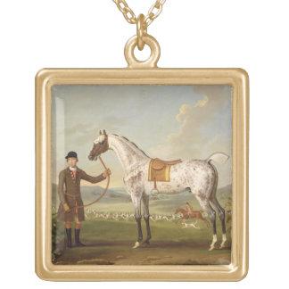 Scipio, Colonel Roche's Spotted Hunter, c.1750 (oi Gold Plated Necklace