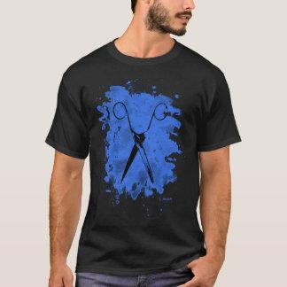 Scissors - bleached blue T-Shirt
