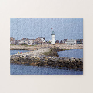 Scituate Lighthouse, Massachusetts Jigsaw Puzzle