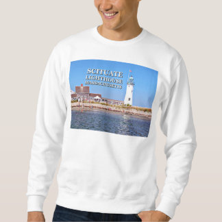 Scituate Lighthouse, Massachusetts Sweatshirt