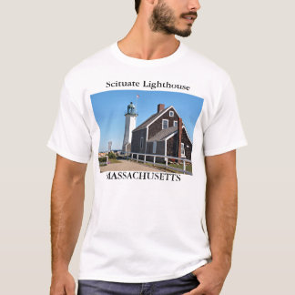 Scituate Lighthouse, Massachusetts T-Shirt