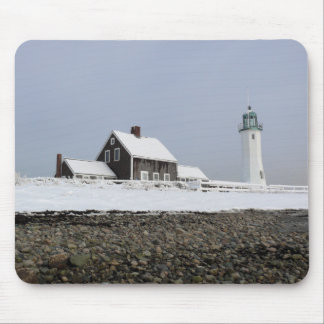 Scituate Lighthouse Mousepad