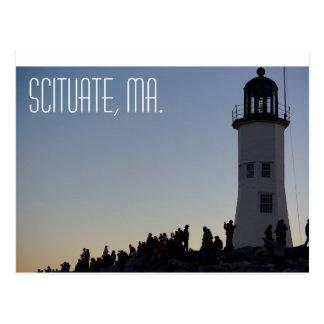Scituate Massachusetts Postcard