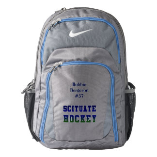 Scituate Sailor Blue HOCKEY bag Backpack