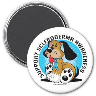 Scleroderma Dog 7.5 Cm Round Magnet