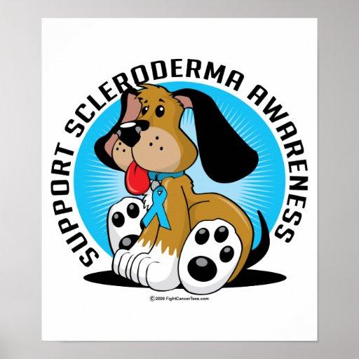 Scleroderma Dog Poster
