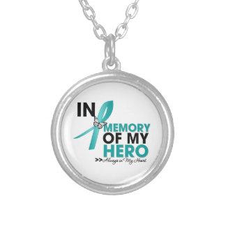 Scleroderma Tribute In Memory of My Hero Necklaces