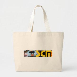 Scm Banner Logo with Car Tote Bag