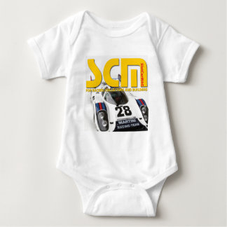 Scm Martini Racing Slot Car Logo Baby Bodysuit